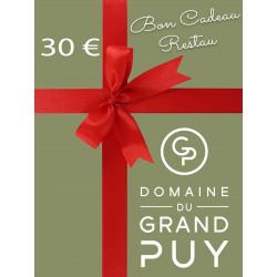 30 € BON CADEAU -...