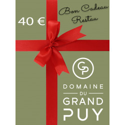 40 € BON CADEAU -...